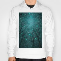 constellation Hoodies featuring One by One, the Infinite Stars Blossomed by soaring anchor designs