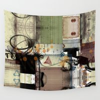 picasso Wall Tapestries featuring Everyday Picasso by Robin Curtiss