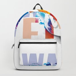 Water vs Fire Backpack