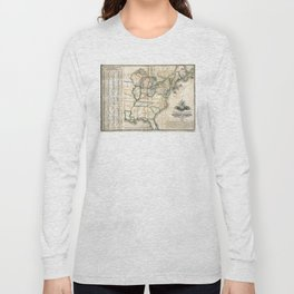 United States - Telegraph stations - 1853 Long Sleeve T-shirt