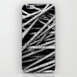 Rebar And Spring - Industrial Abstract iPhone Skin