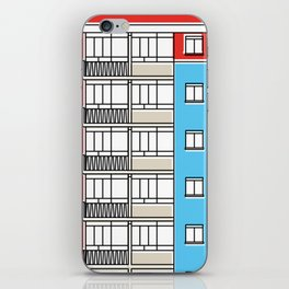 Edificio Canaima -Detail- iPhone Skin