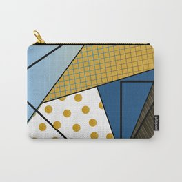 Texture & Shapes Carry-All Pouch