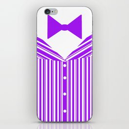 Dapper Dan (Purple) iPhone Skin