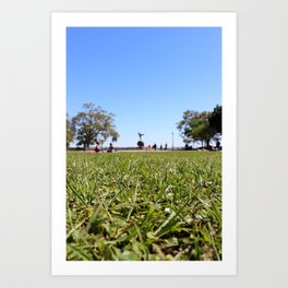 Picnic in the Park Art Print