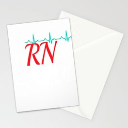 Earned It RN Nurse Nursing Graduation Gift T-Shirt T-Shirt Stationery Cards