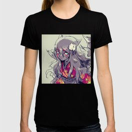 Fox girl sketch T-shirt
