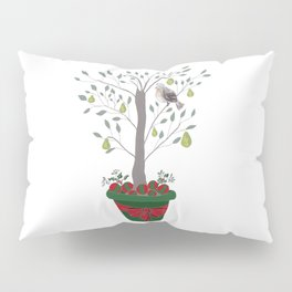12 Days of Christmas Partridge in a Pear Tree Pillow Sham