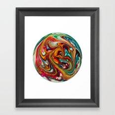 Psychoplanet #2 Framed Art Print