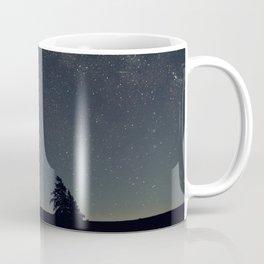 Starry night over the trees Coffee Mug