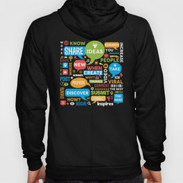 Social Media Infographic Style Design Hoody
