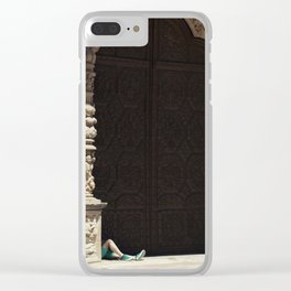 The gossipers and the green witch Clear iPhone Case