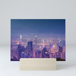 Hong Kong View V Mini Art Print