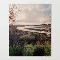 Pre-storm sunset Canvas Print
