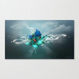 Energy Asker Canvas Print