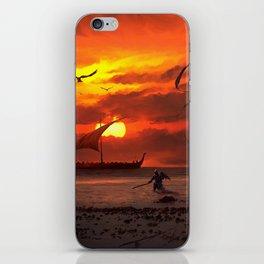 Beach Battlefront iPhone Skin
