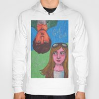 paper towns Hoodies featuring Paper Towns by Anna Gogoleva
