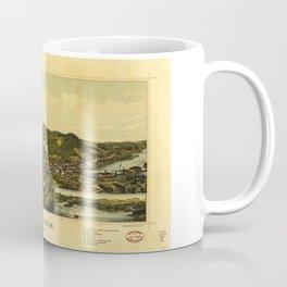 Aerial View of Milton, New Hampshire (1888) Coffee Mug