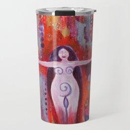 Phoenix Priestess Rising Travel Mug