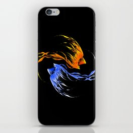 Phoenix Ice And Fire iPhone Skin