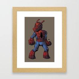 Spider-Ham  Framed Art Print