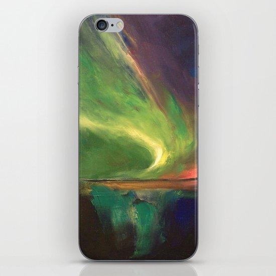 Aurora Borealis iPhone & iPod Skin
