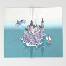 Hogwarts series (year 4: the Goblet of Fire) Throw Blanket