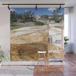 Canary Hot Springs Wall Mural