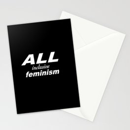 All Inclusive Feminism Stationery Cards