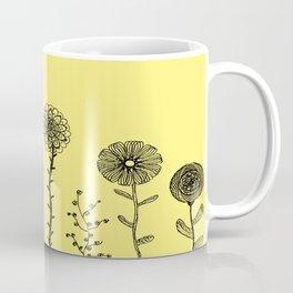 Flowers yellow Coffee Mug