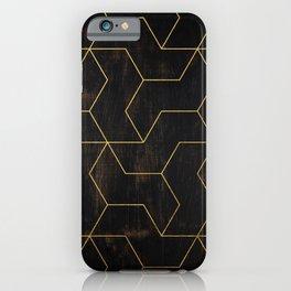 Golden Mosaic  iPhone Case
