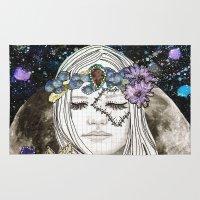 luna Area & Throw Rugs featuring Luna by Jenndalyn