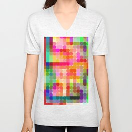 Re-Created Cypher 1.0 by Robert S. Lee Unisex V-Neck