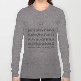 Travel Far and Often Long Sleeve T-shirt