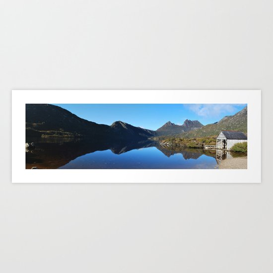 Cradle Mountain Lake Panoramic Art Print
