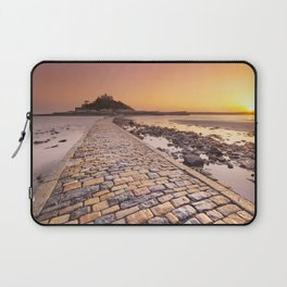 Saint Michaels Mount in Cornwall, England Laptop Sleeve