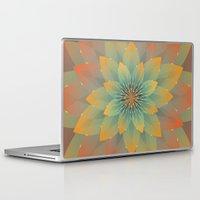 lotus flower Laptop & iPad Skins featuring Lotus by HK Chik