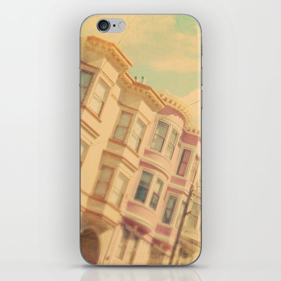 Sweet San Francisco. SF photograph iPhone & iPod Skin