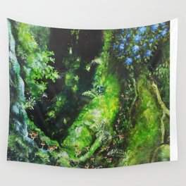 princess mononoke forest Wall Tapestry