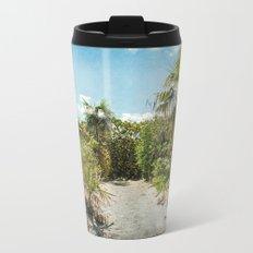 Pathway to Paradise Metal Travel Mug