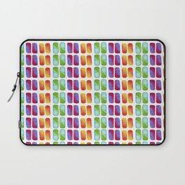 Color pops in Watercolor Laptop Sleeve
