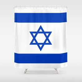 Flag of Israel Shower Curtain