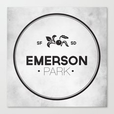 Emerson Park Canvas Print