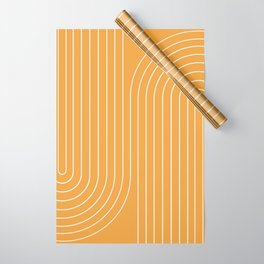 Minimal Line Curvature VIII Wrapping Paper