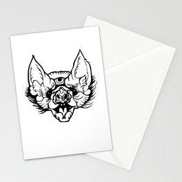 Summer Women New Gothic Punk Bat Stationery Cards