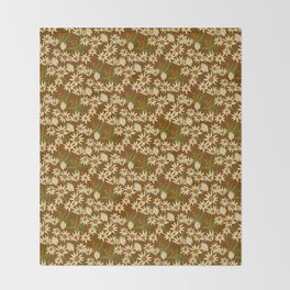 Flannel Flower Fields Throw Blanket