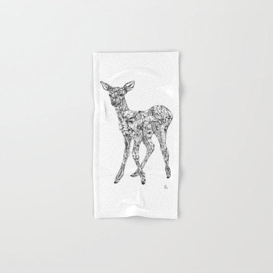 Leafy Deer Hand & Bath Towel