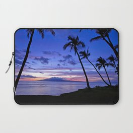 BEACH AND PALM TREES Laptop Sleeve