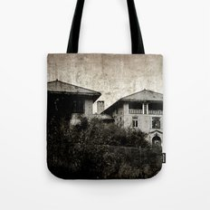 Plymouth County Hospital Front facade Tote Bag