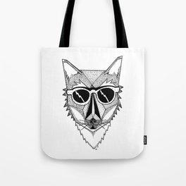 Pop Fox Tote Bag